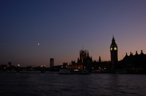 From Thames cruise